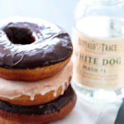 Moonshine-Glazed Dougnuts