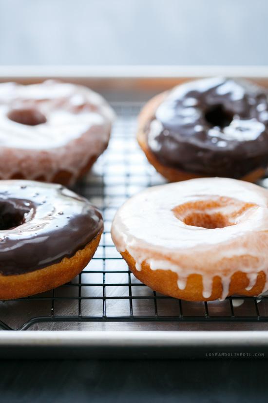 Moonshine-Glazed Doughnuts