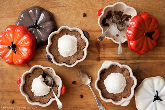 Spiced Deep-Dish Chocolate Chip Cookies