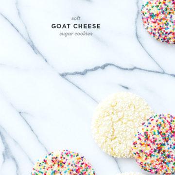 Goat Cheese Sugar Cookies
