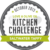 October Kitchen Challenge - Saltwater Taffy