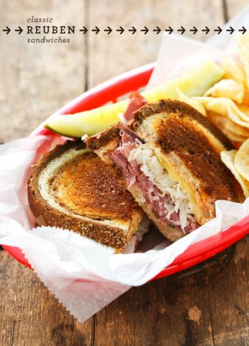 Classic Reuben Sandwiches