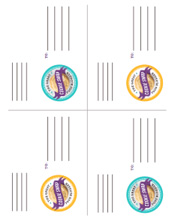 Cookie Swap 2013 Printable Shipping Labels