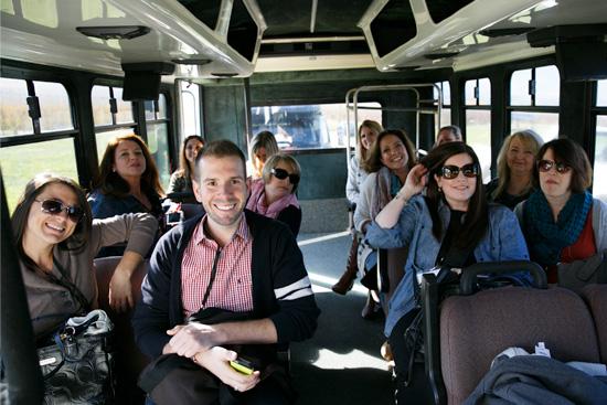 Bus Full of Bloggers
