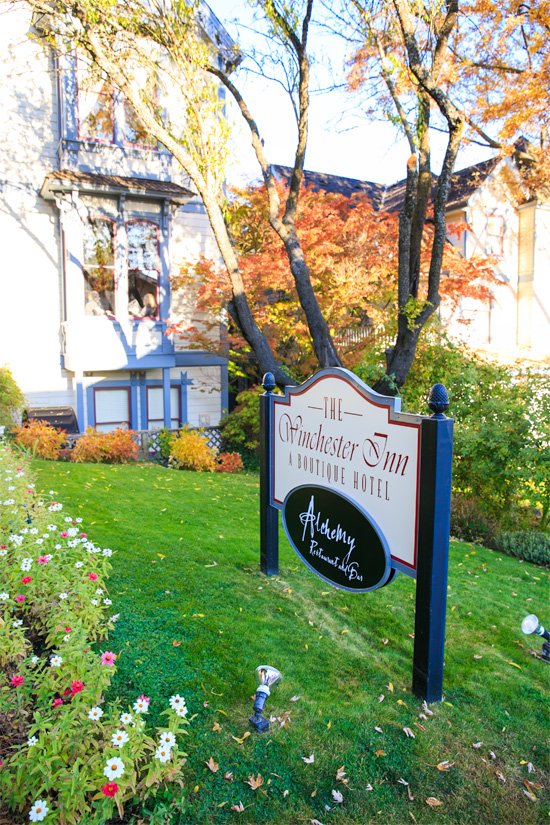 Winchester Inn, Ashland Oregon