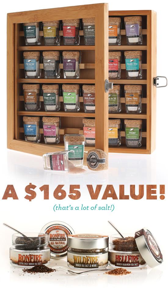 Salt Lovers Giveaway from SaltWorks, Inc