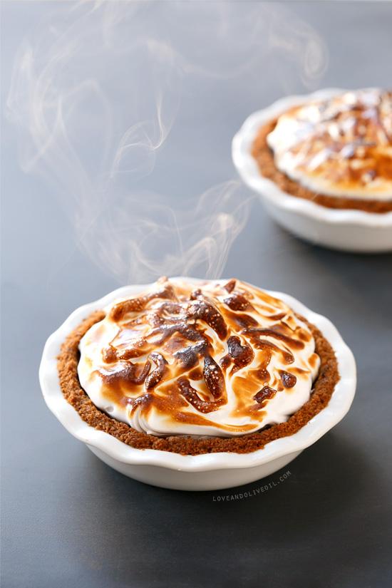 S'Mores Pumpkin Pie