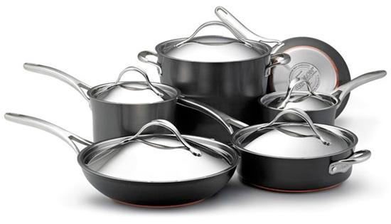Anolon® Nouvelle Copper Cookware Set Giveaway