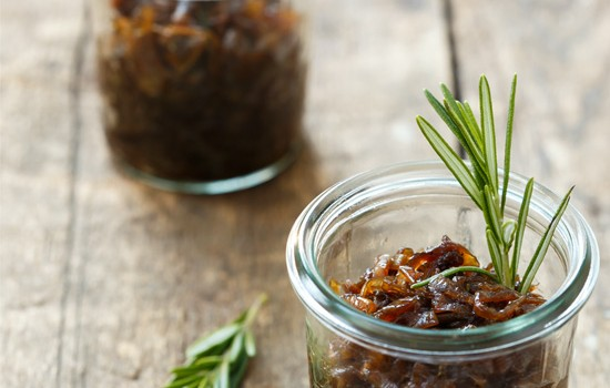 Balsamic Rosemary Onion Jam