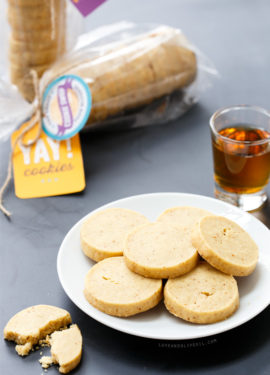 Bourbon, Brown Butter, and Vanilla Bean Shortbread