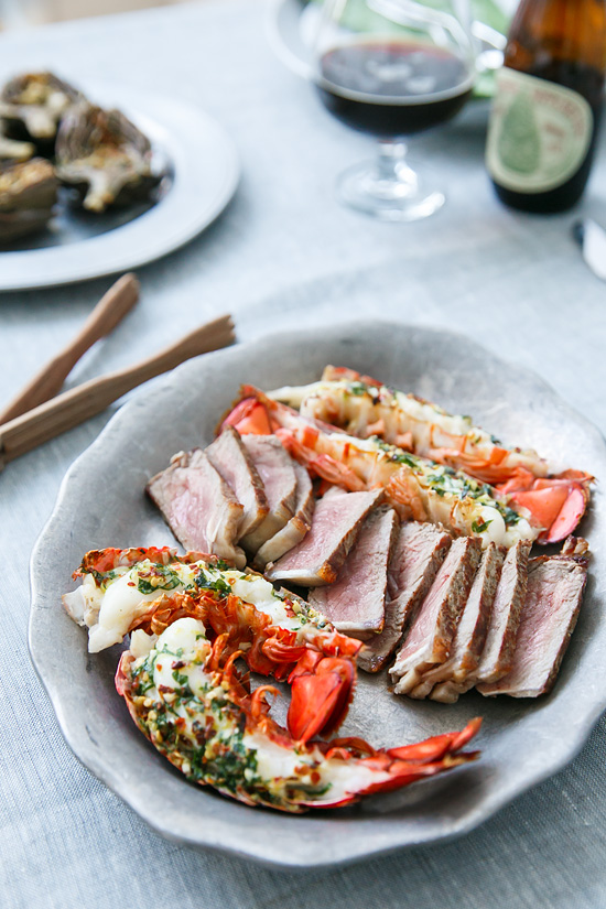 Christmas Surf & Turf Dinner for Two