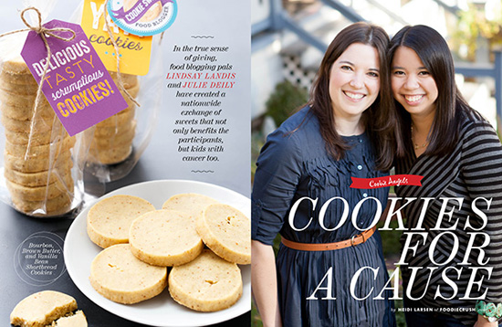 FoodieCrush Feature on the Great Food Blogger Cookie Swap