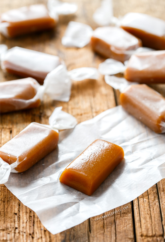 Gingerbread Caramels | Love and Olive Oil