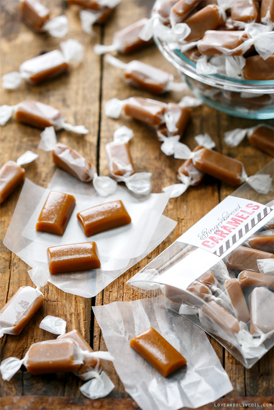 Homemade Gingerbread Caramel Candy Recipe