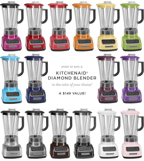 KitchenAid® Diamond-Series Blender Giveaway