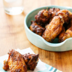Sweet Tea-Brined Baked Hot Chicken Wings