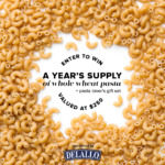 DeLallo Whole Wheat Pasta Giveaway