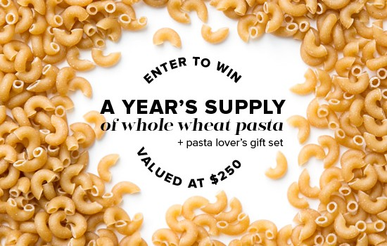 DeLallo Whole Wheat Pasta Giveaway