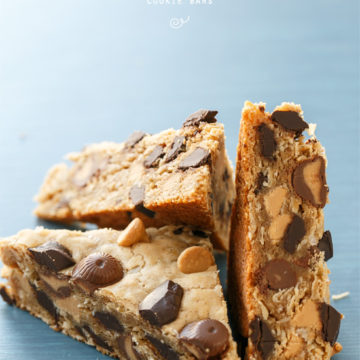 Oatmeal Peanut Butter Cookie Bars