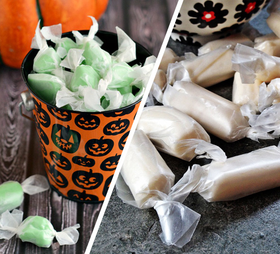 October Kitchen Challenge: Salt Water Taffy
