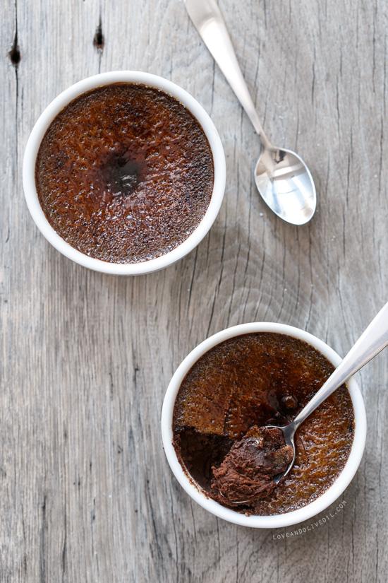Chocolate Truffle Crème Brûlée