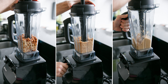 How-to Make Homemade Peanut Butter with a Vitamix