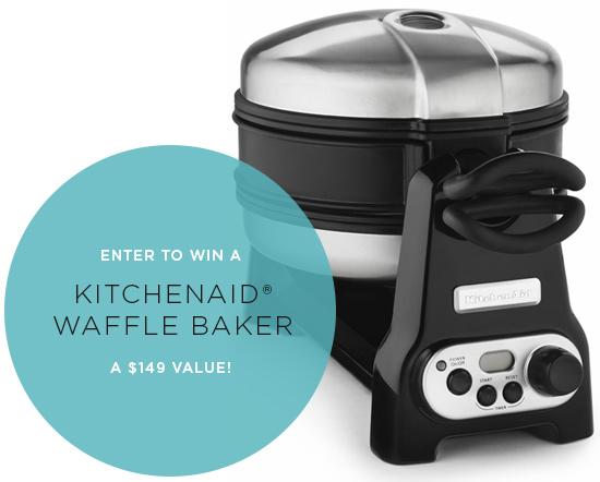 KitchenAid® Waffle Baker Giveaway