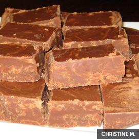 Kitchen Challenge, Fudge: Christine