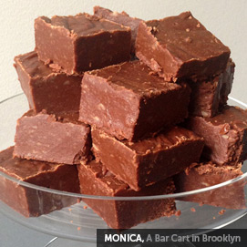 Kitchen Challenge, Fudge: Monica