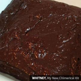 Kitchen Challenge, Fudge: Whitney
