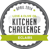 April Kitchen Challenge: Eclairs