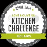 April Kitchen Challenge: Eclairs