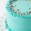 Frosted Funfetti Layer Cake