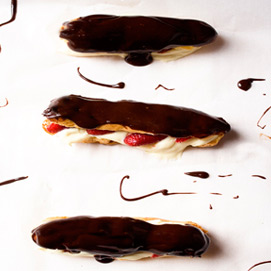 April Kitchen Challenge, Eclairs: Kelly