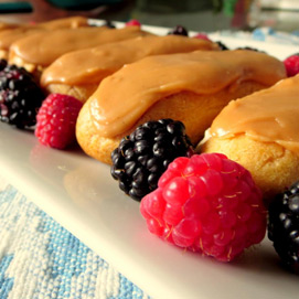 April Kitchen Challenge, Eclairs: Sarah
