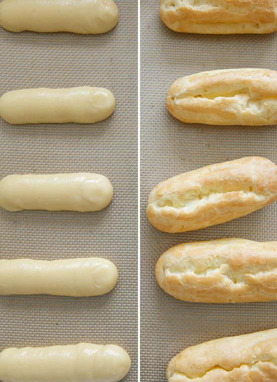 How to Make Homemade Eclairs