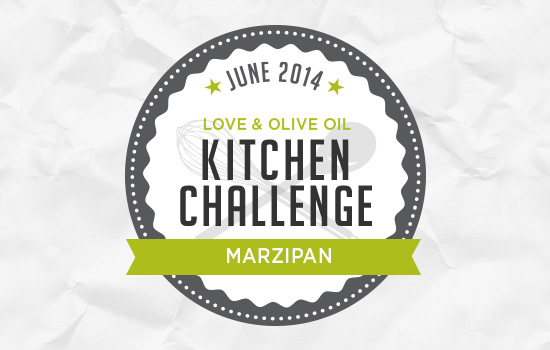 June Kitchen Challenge: Marzipan