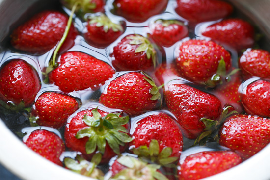 Fresh Picked Tennessee Strawberries