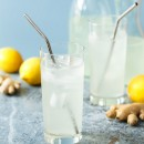 Ginger Lemonade from @loveandoliveoil