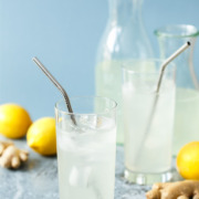 Ginger Lemonade from @loveandoliveoil