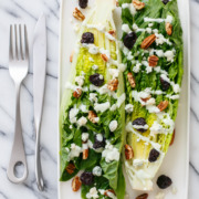 Wedge Salad with Buttermilk Black Pepper Dressing