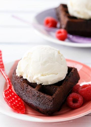 mini angel food cakes with fresh whipped cream  berries