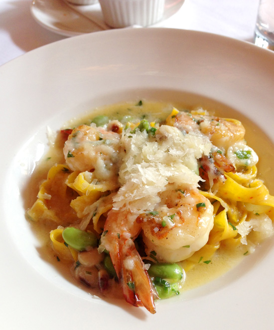 Gulf Shrimp Pasta from La Petite Grocery in New Orleans