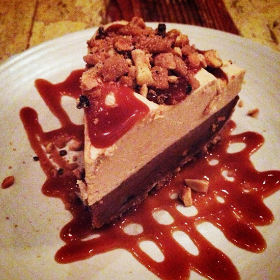 Chocolate Peanut Butter Banana Pie at Peche New Orleans