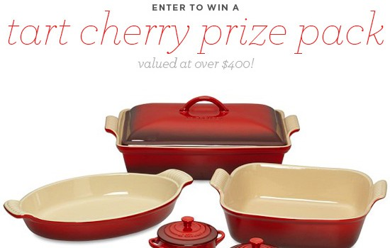 Tart Cherry Giveaway valued at over $450!
