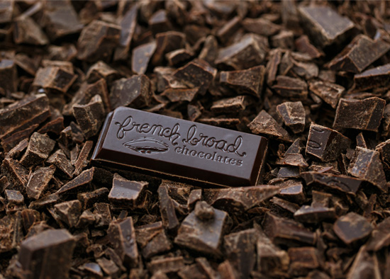 French Broad Chocolate made in Asheville, NC