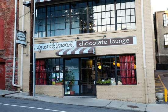 French Broad Chocolate Lounge, Asheville, NC