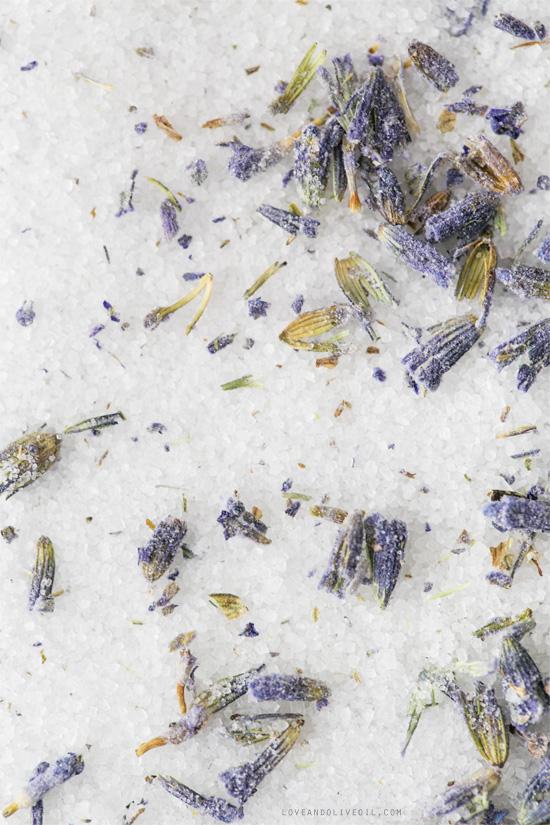 Lavender Sugar for Chocolate Lavender & Earl Gray Bundt Cake