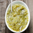 Homemade Roasted Tomatillo Salsa Verde