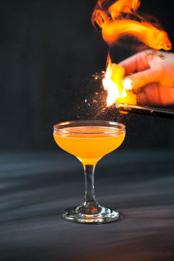 The Antioxidant cocktail recipe (Vodka, Aperol & Tangerine Cocktail)